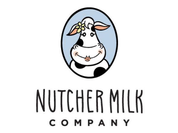 Nutcher Milk Company Custom Logo and Branding by Farm To Shelf