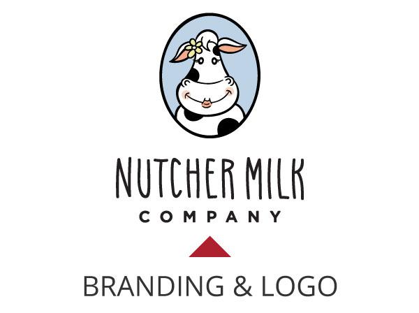 Nutcher Milk Logo