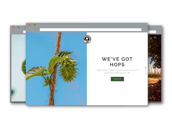 Golden State Hops Website