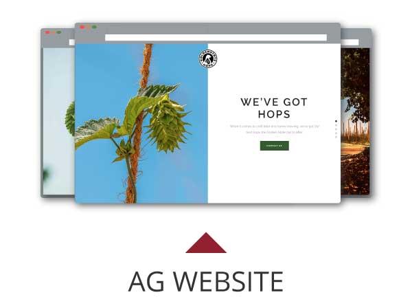 Golden Hops Website